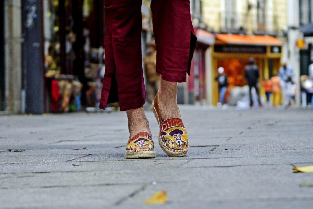 Tipos de calzado femenino