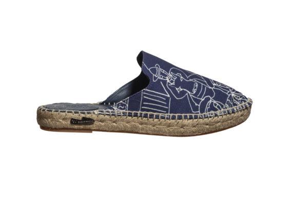 Sandalias de yute artesanal