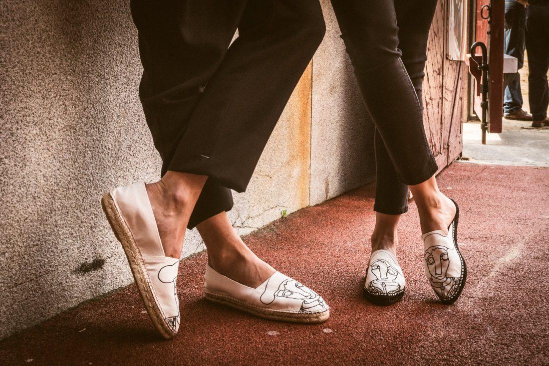 Cómo limpiar el calzado de esparto