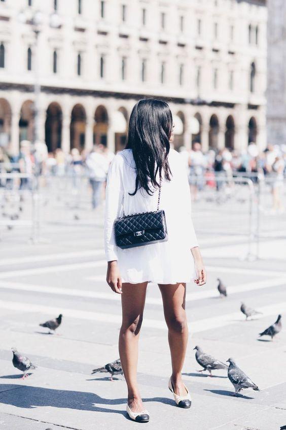 Las marcas se inspiran en los escarpines bicolores de Chanel