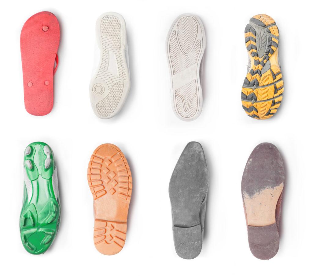 Tipos de suelas de zapato