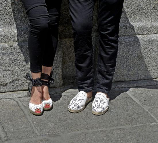 Zapatos sin calcetines